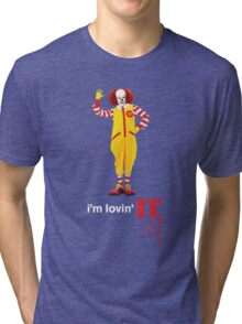 Pennywise lovin' IT ( White Font ) Tri-blend T-Shirt