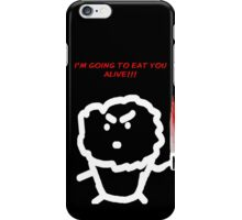 The Cannibal Muffin iPhone Case/Skin