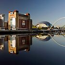 Gateshead Riverside by Great North Views