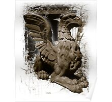 Gargoyle, Old Annapolis Post Office Maryland Poster