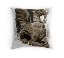 Gargoyle, Old Annapolis Post Office Maryland Throw Pillow