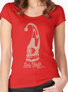 Jump Little Utopia brown Women's Fitted Scoop T-Shirt