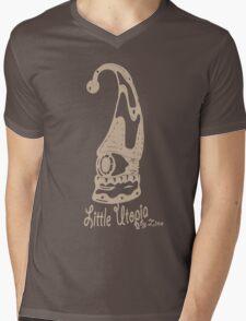 Jump Little Utopia brown Mens V-Neck T-Shirt