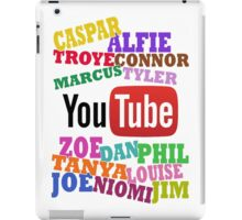 YOUTUBE STARS iPad Case/Skin