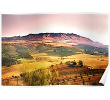 El Torcal Mountains from Pastelero Spain Poster