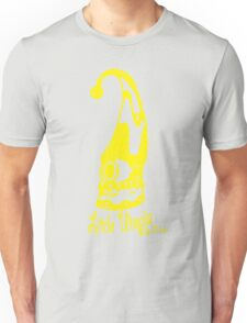 Jump Little Utopia yellow Unisex T-Shirt