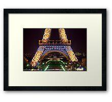 Eiffel Militaire Framed Print