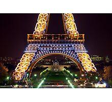 Eiffel Militaire Photographic Print