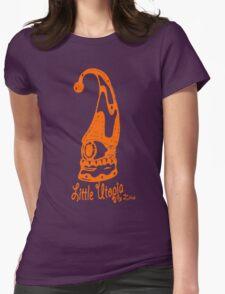 Jump Little Utopia orange Womens Fitted T-Shirt