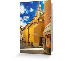 Lerici - San Rocco Church Greeting Card