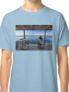 Peaceful life in the lagoon of Messolonghi Classic T-Shirt