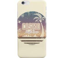 Sonic 2 - Casino Night Zone (Distressed) iPhone Case/Skin