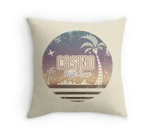 Sonic 2 - Casino Night Zone (Distressed) Throw Pillow