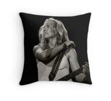 Sheryl Crow in Paris Throw Pillow