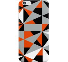 Funky Modern Geometric Abstract Shapes Pattern iPhone Case/Skin