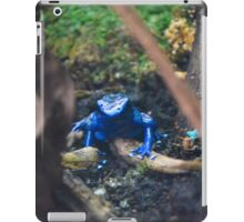 Blue Poison Dart Frog  iPad Case/Skin