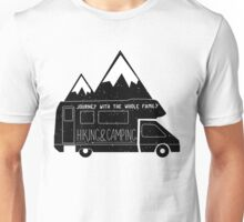 Hiking & Camping Unisex T-Shirt