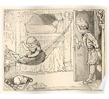 Five Mice in a Mouse Trap Laura Elisabeth Howe Richards and Kate Greenaway 1881 0116 Story of the Wind Poster