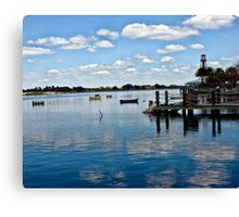 Sky, Water, Reflection Canvas Print