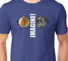 John Lennon - Imagine - Give Peace a Chance - War is over Unisex T-Shirt