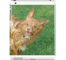 A Wet Toller is a happy Toller iPad Case/Skin