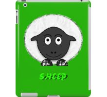 A SHEEP T-shirt, leggings, etc. design iPad Case/Skin