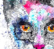 polygonal cat by solarlullaby