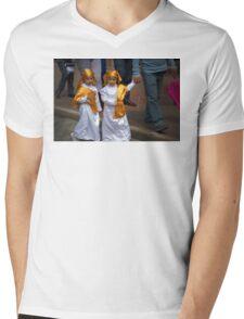 Cuenca Kids 644 Mens V-Neck T-Shirt