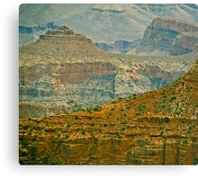 The Grand Canyon Series  - 7 Lil' House on the Canyon Canvas Print