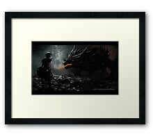 TES - Skyrim Framed Print