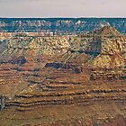 The Grand Canyon Series  - 9 Canyon Walls by Paul Gitto