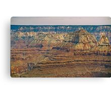 The Grand Canyon Series  - 9 Canyon Walls Canvas Print