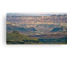 The Grand Canyon Series  - 11 River Valley Canvas Print