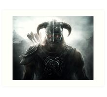 TES - Skyrim Dawnguard Art Print