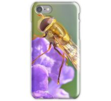 Pretty Hoverfly iPhone Case/Skin