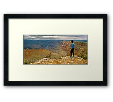 The Grand Canyon Series  - Anne's Canyon Framed Print