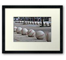 Ready for Baseball Framed Print