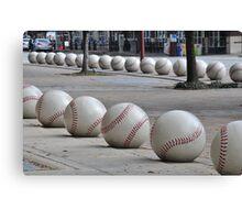 Ready for Baseball Canvas Print