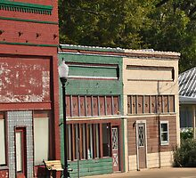 Small town downtown by Rena Neal
