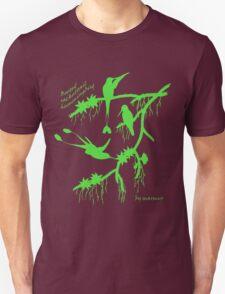 Green booted rackettail hummingbird T-Shirt