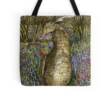 The Curious Hare Tote Bag