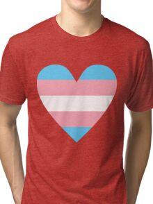 Transgender heart Tri-blend T-Shirt