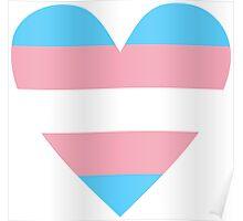 Transgender heart Poster