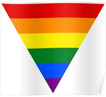 LGBT triangle flag Poster