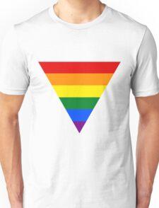 LGBT triangle flag Unisex T-Shirt