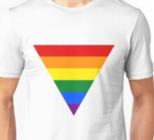 LGBT triangle flag Unisex T-Shirt