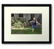 Too much fun Framed Print