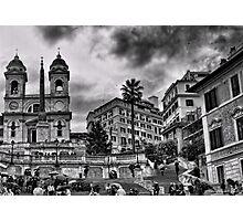 Trinità dei Monti, Roma Photographic Print