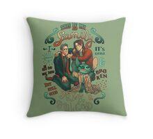 Supernatural family Throw Pillow