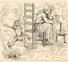 Five Mice in a Mouse Trap Laura Elisabeth Howe Richards and Kate Greenaway 1881 0102 Cross Old Woman and Fire by wetdryvac